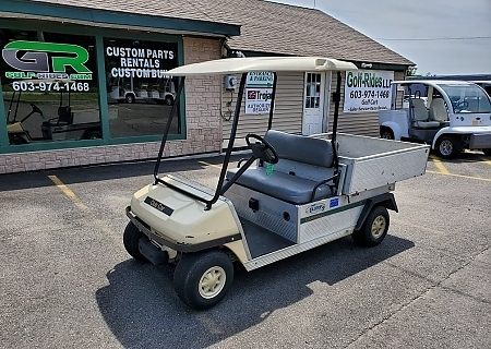 2006 CLUB CAR TURF2 WHITE