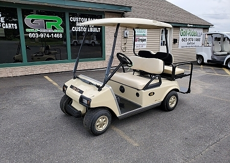 2010 CLUB CAR DS BEIGE