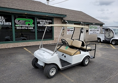 1987 CLUB CAR DS WHITE