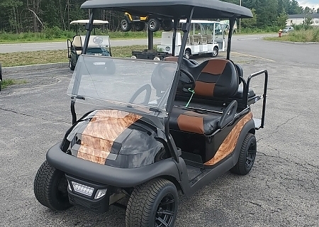 2005 CLUB CAR PRECEDENT WOOD - $OLD