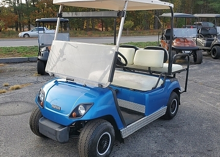 2000 YAMAHA G16 BLUE GAS - $old