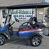 2010 CLUB CAR PREC RED/WHITE/BLUE - $OLD