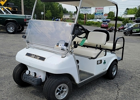 1997 CLUB CAR DS WHITE - $OLD